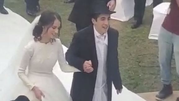 Az első ortodox zsidó esküvő az Emírségekben