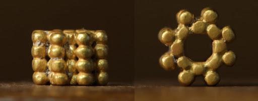 Lelet: Háromezer éves aranygyöngy a jeruzsálemi Templomhegyről