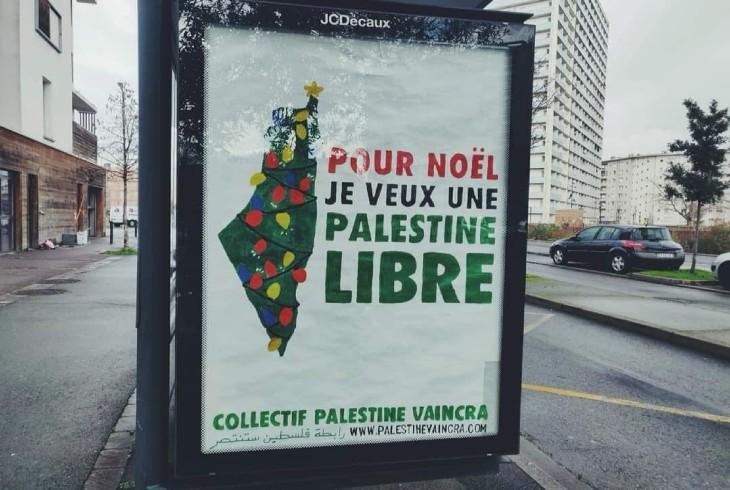 """Karácsonyra """"szabad Palesztinát"""""""