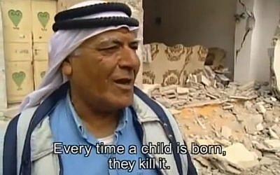 """""""Nem a tények, csupán a palesztin narratíva bemutatására törekedett"""""""