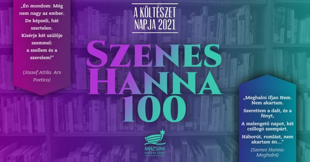 Szenes Hanna 100