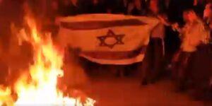 Függetlenségi Nap: a Mea Searimban elégették az izraeli zászlót