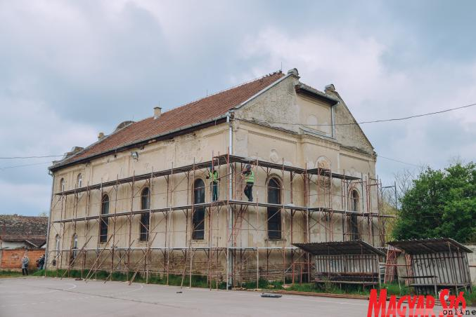 Felújítják a kis zsinagógát Zentán   Szombat Online