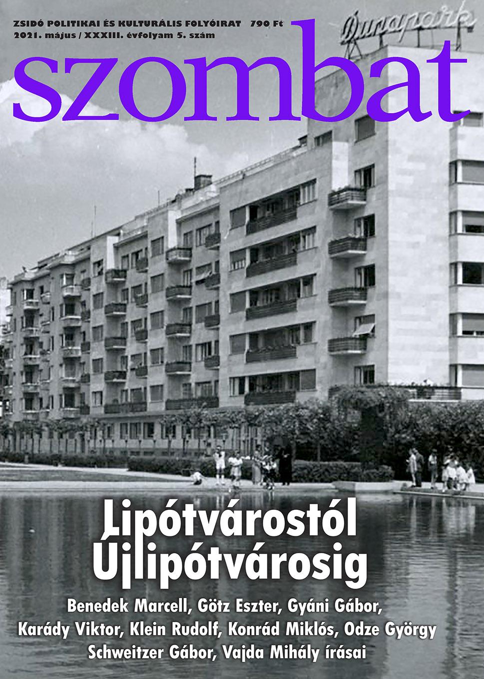 Megjelent a Szombat májusi száma! | Szombat Online