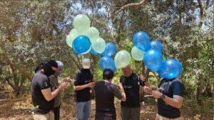 Három napja újra küldik Gázából a terrorléggömböket