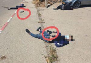 Izraeli katonák lelőttek három, rájuk támadó palesztin fegyverest