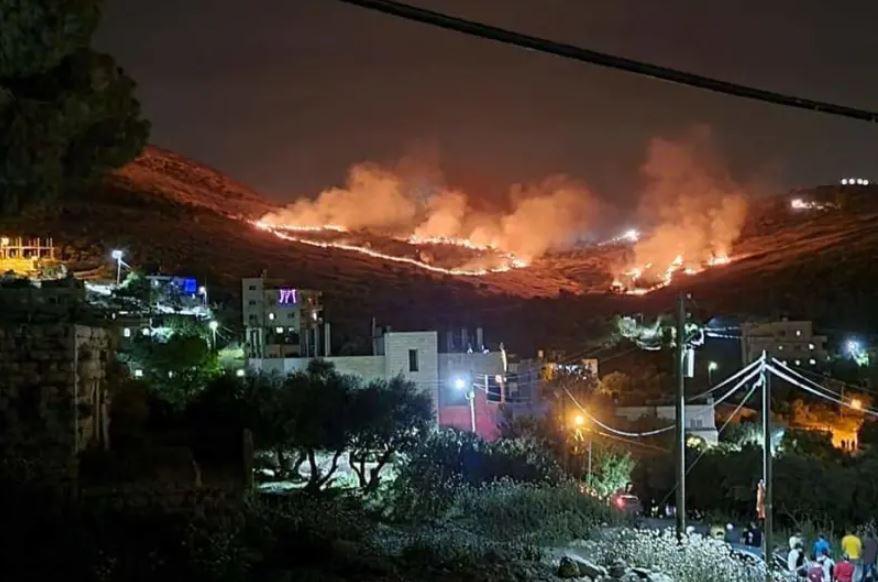 Telepesek felgyújtották a palesztinok földjeit – vagy fordítva?