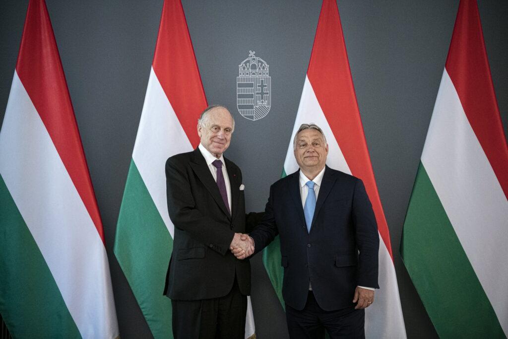Orbán Viktor fogadta Ronald S. Laudert