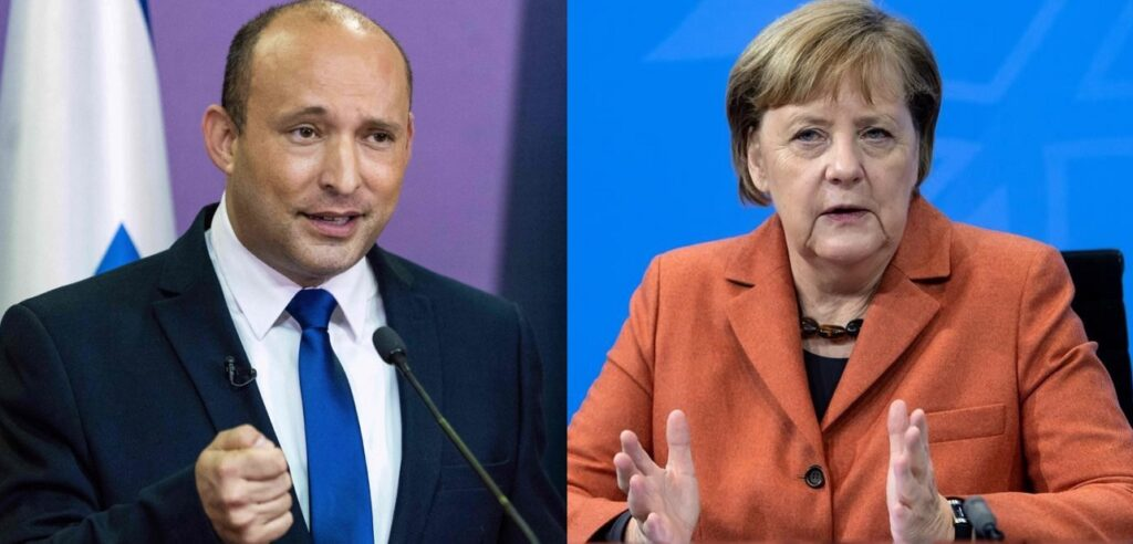 Naftali Bennett meghívta Izraelbe Angela Merkelt