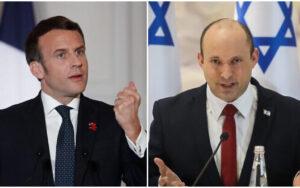 Macron felhívta Bennettet a kémszoftver miatt