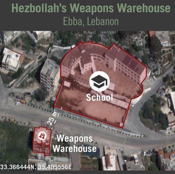 Izraeli hadsereg: a Hezbollah robbanóanyagot tárol 25 méterre egy iskolától | Szombat Online