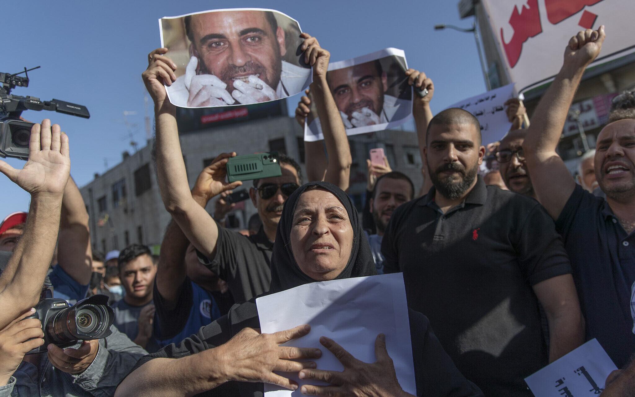 A Palesztin Hatóság fogságában életét vesztett aktivista családja nemzetközi bírósághoz fordul | Szombat Online