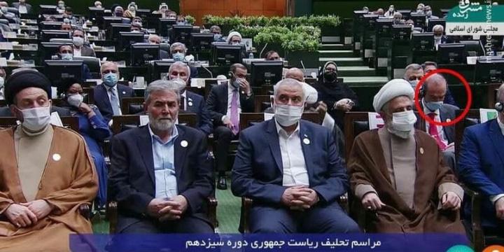 """Magas rangú EU küldött a """"teheráni hóhér"""" beiktatásán   Szombat Online"""