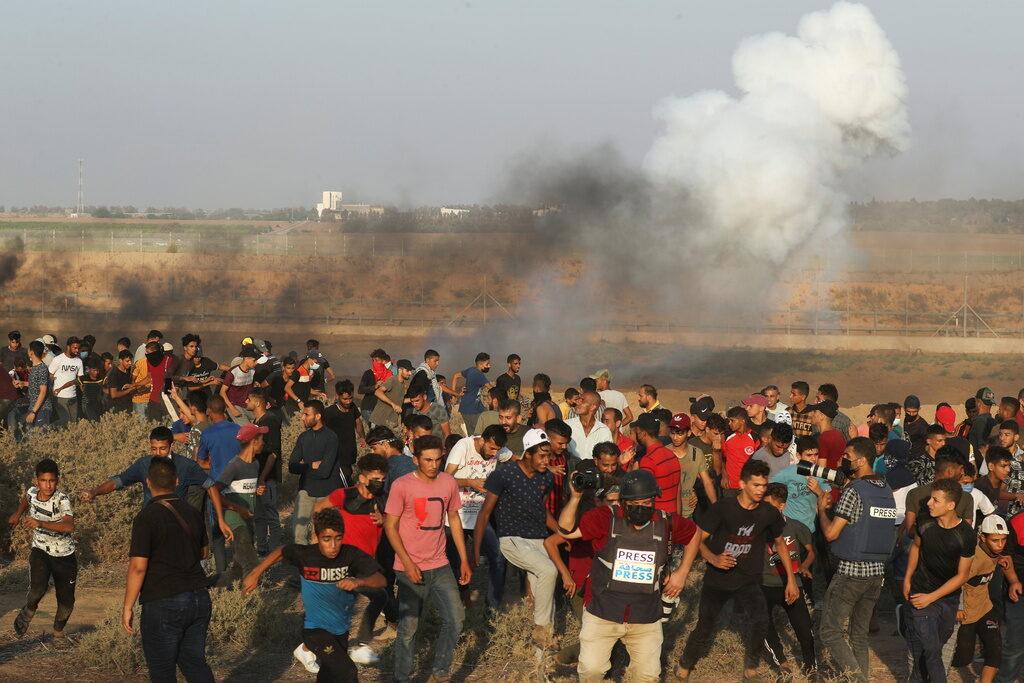Zavargások a gázai határnál | Szombat Online