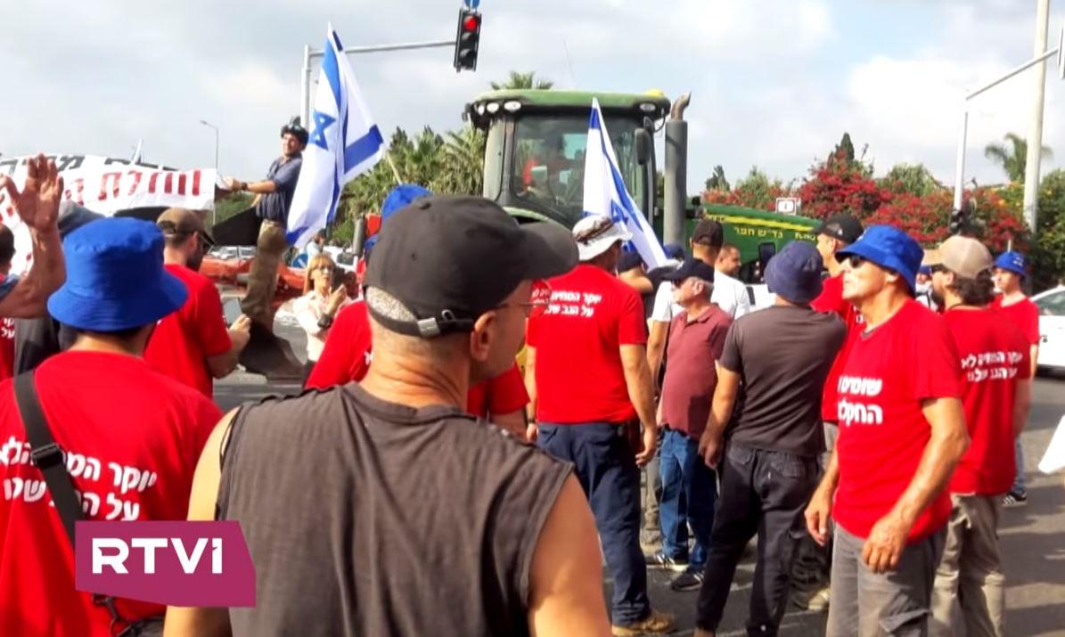 Izrael: a kormány a mezőgazdasági védővámok leépítését tervezi, a termelők tüntetnek