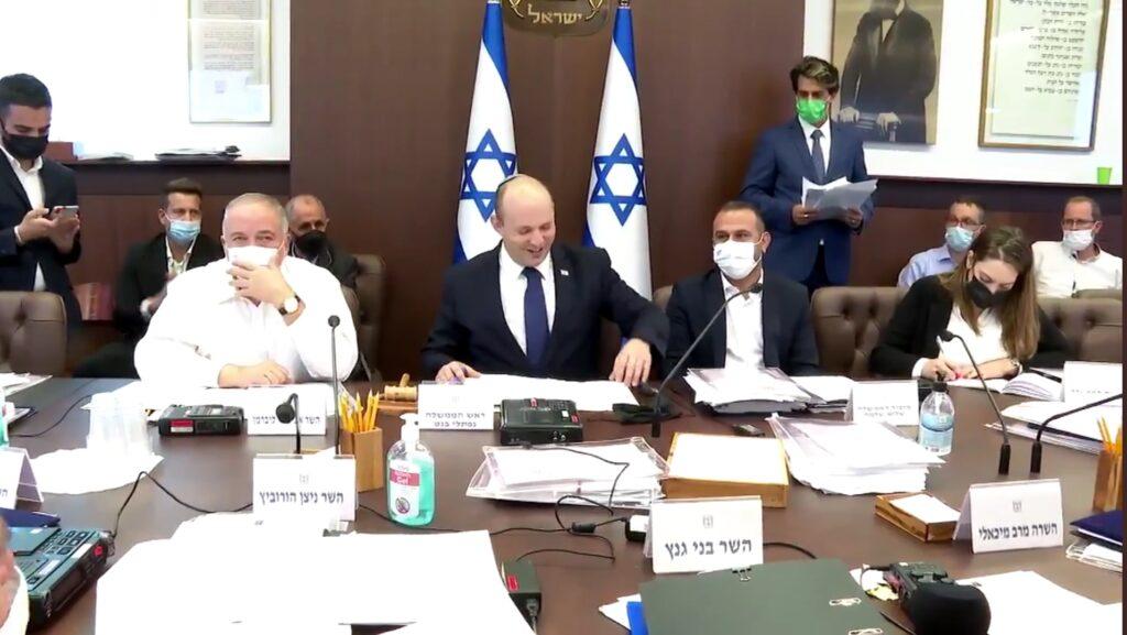Bennett: Három év után, Izraelnek van költségvetése