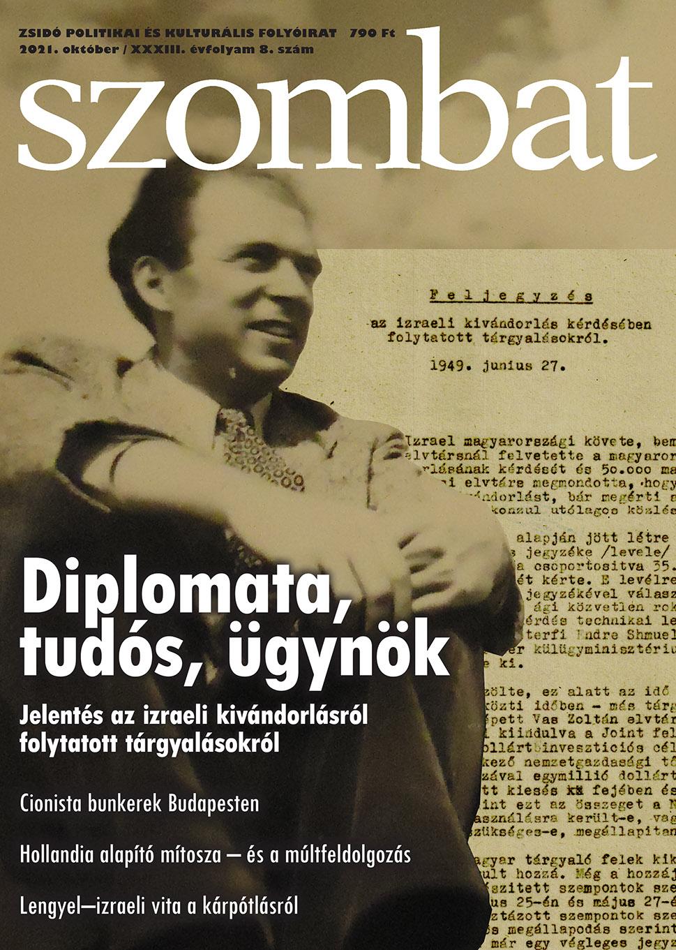 Megjelent a Szombat októberi száma! | Szombat Online