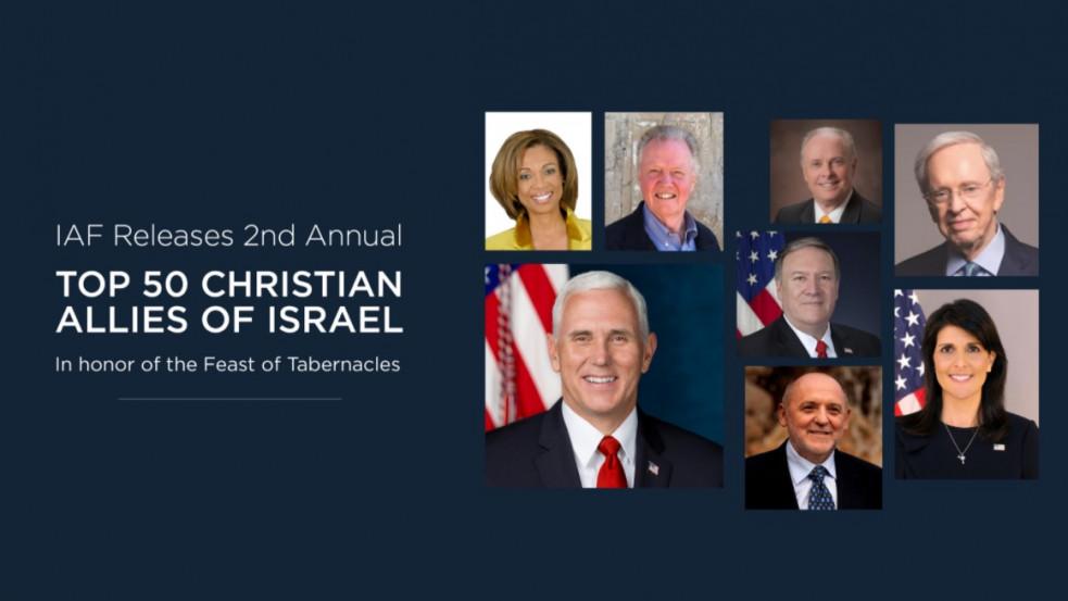 """Egyetlen európai """"Izrael keresztény szövetségesei"""" között"""