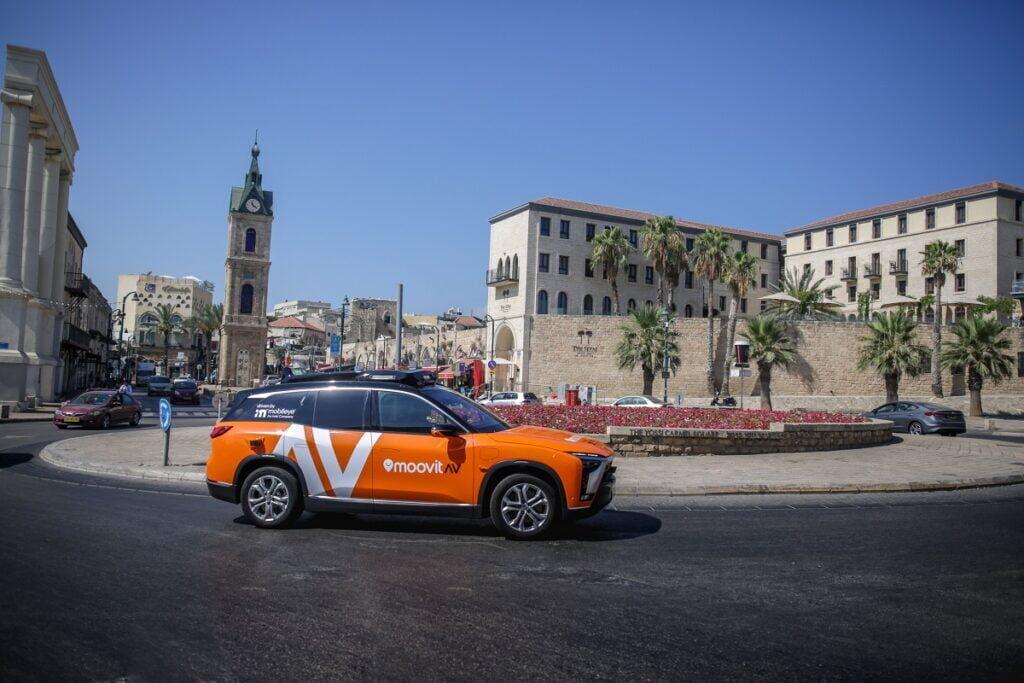 A Mobileye önvezető taxija Münchenben és Tel Avivban