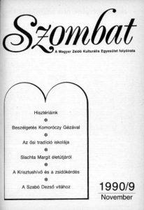 1990. novemberi szám