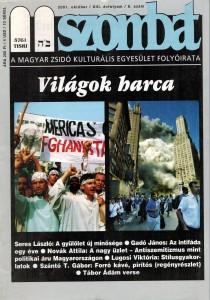 2001. októberi szám
