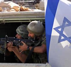 Izraeli katonák egy NATO hadgyakorlaton
