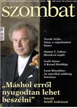 Megjelent a Szombat 2009. februári száma