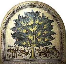 eletfa egy 8dik szazadi mozaikabrazolás Jerichoban.jpg