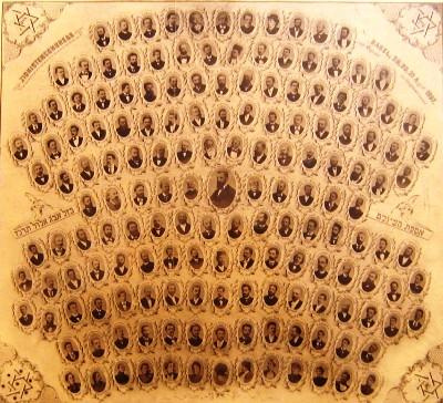 az elso cionista kongresszus küldöttei tablo 1897 Basel web.jpg