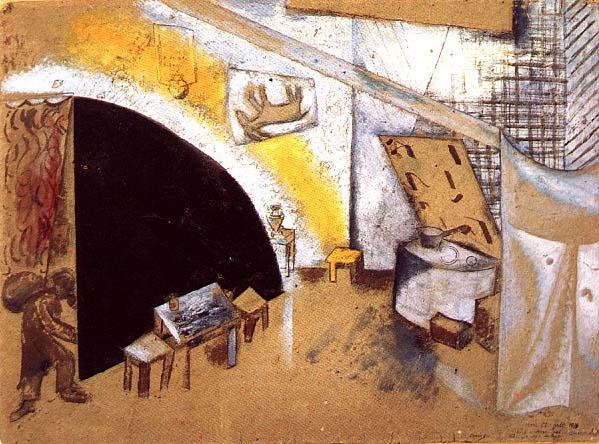 Chagall színpadterve egy Goszet előadáshoz.jpg