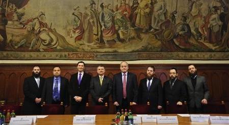 Magyarországon járt az Európai Zsidó Parlament