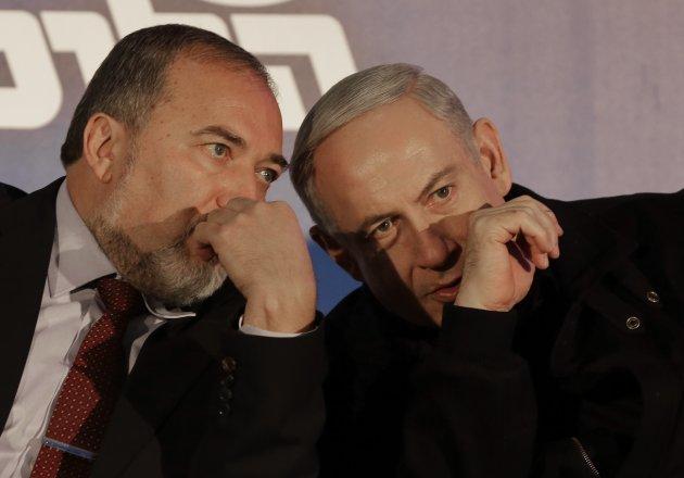 Liberman és Netanjahu