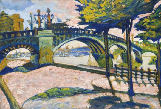 Scheiber Hugó: Margit híd