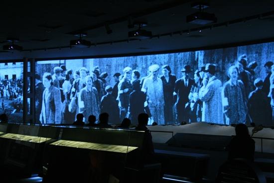 A Moszkvai Zsidó Múzeum egyik installációja