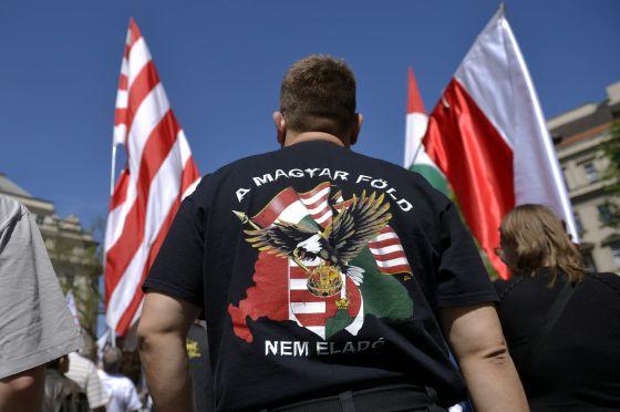 Anticionista tüntetés - Budapesten demonstrált a Jobbik