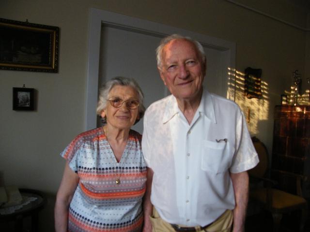 Vidor György és felesége