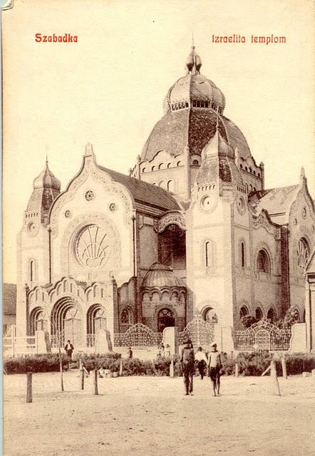 3 A szabadkai zsinagóga 1914 előtt