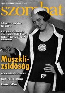 Muszklizsidóság, a Szombat 2013 májusi számának címlapja