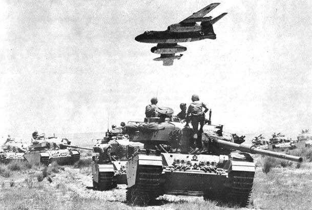 1967 - egy izraeli harci gép visszatér a bevetésből