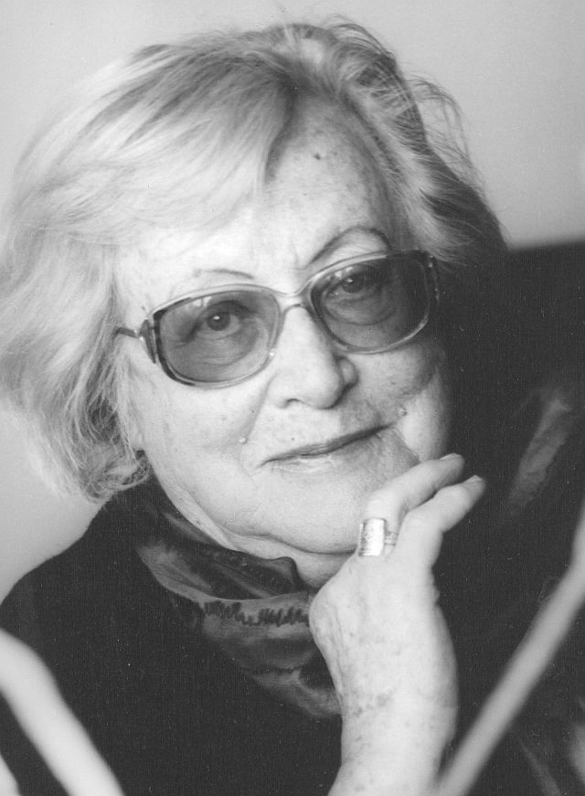 Ida Fink fotó Ela Lempp