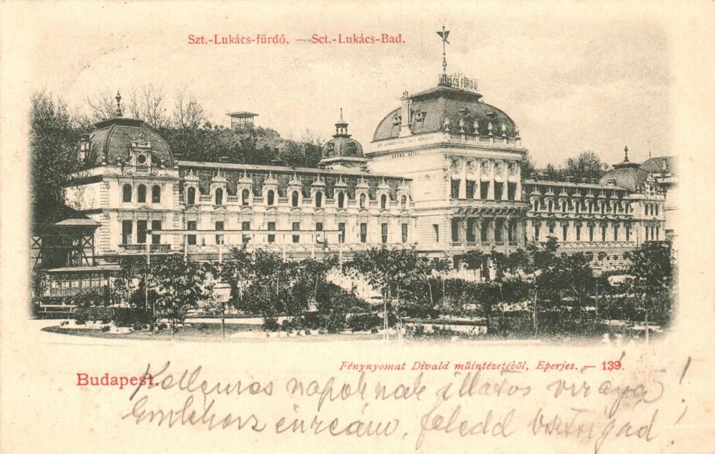 9 - A Lukács Fürdő_1901-ben