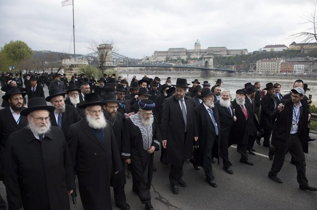 Az Európai Rabbi Központ ülése Budapesten