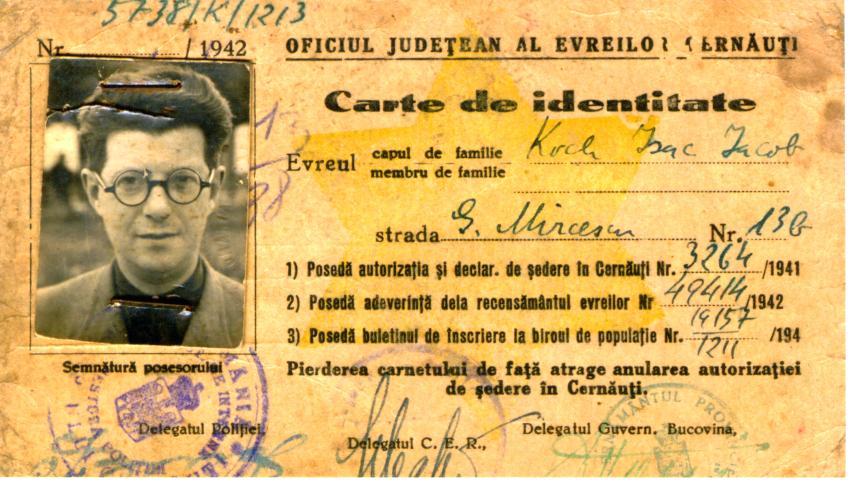 07_Zsidó számára kiállított személyiigazolvány.1942