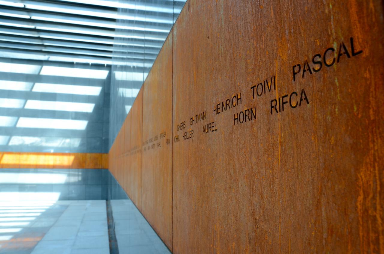 Holokauszt emlékmű Bukarestben