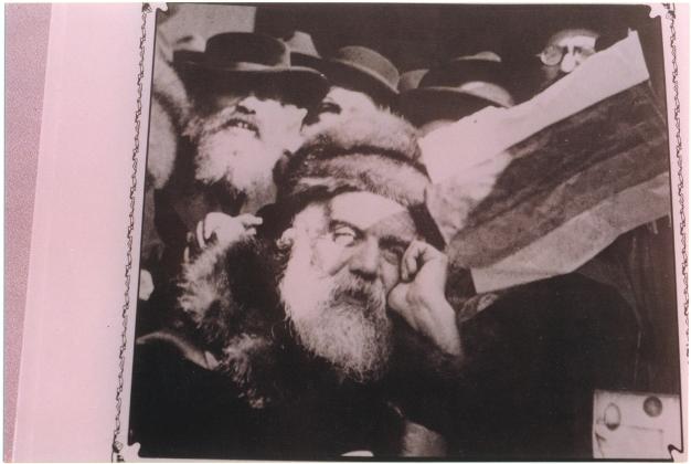 4 - Spira Lázár rabbi, a munkácsi rebe