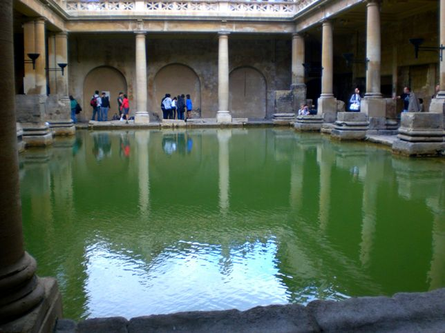 4 - rekonstruált római fürdő
