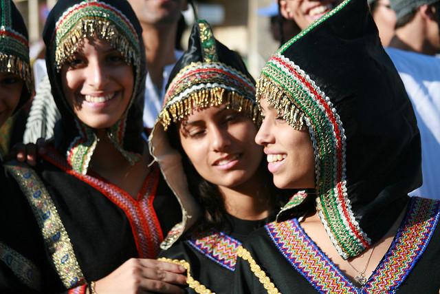 08_Israelis dressed as Yemenite Jews
