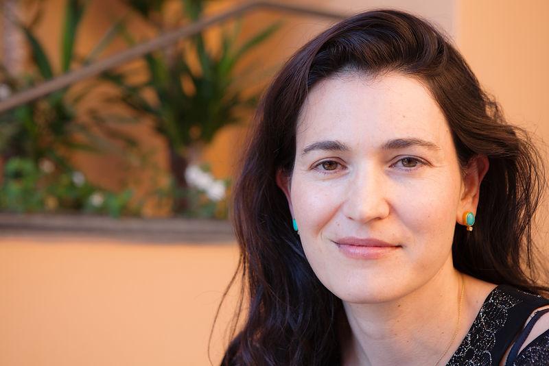 Nicole Krauss at The Conversations, Capri, Naples, Italy. 26/06/
