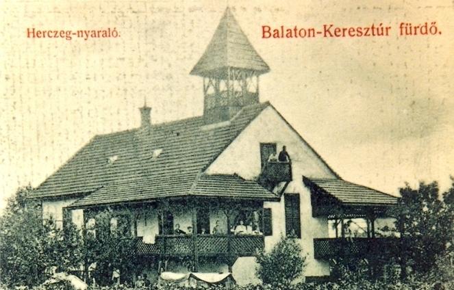 A Herczeg nyaraló az 1910-es években