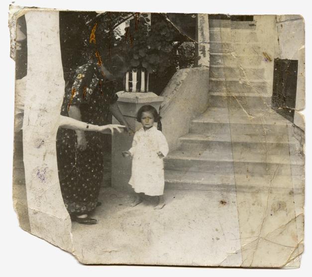 Herczeg néni és unokája Redlich Éva